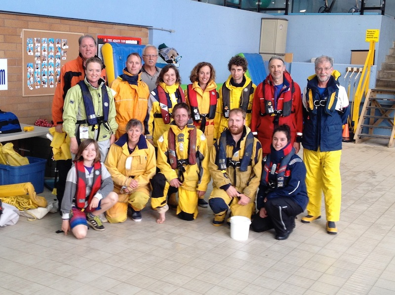 Bluewater Saftey at sea course
