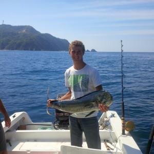 Josh and Rob catching more fish
