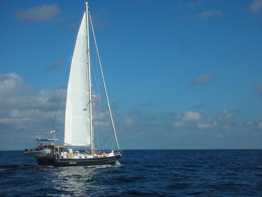Salish Sea on a sunny day